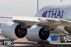 Thai Airways International Airbus A380-841 cn 125 F-WWSQ // HS-TUE (Clment Alloing - CAphotography) Tags: test cn canon airplane airport aircraft flight international thai airbus toulouse airways aeroport aeropuerto blagnac spotting tls 125 100400 a380841 lfbo fwwsq hstue