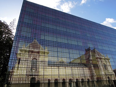 Lille, palais des Beaux-Arts (Ytierny) Tags: france horizontal architecture pierre moderne palais lille miroir btiment faade nord edifice mtropole beauxarts placedelarpublique flandre citflamande ytierny