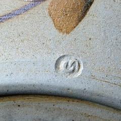 Gormanns, Ingeborg (Australian Potters' Marks) Tags: g vic australianpottery ingeborggormanns