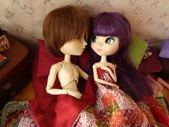 Kuro y Lila (Pesadillas) 7 (Lunalila1) Tags: 6 nude doll track handmade lila shade groove pullip kuro vi tachibana xiaofan pesadillas taeyang