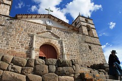The church in Vilcashuaman