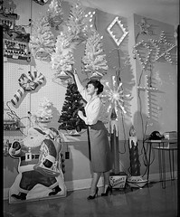 NOMA Christmas light showroom 1954 (JeffCarter629) Tags: