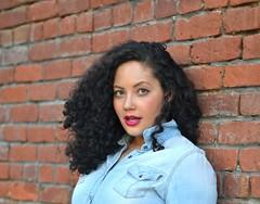 American Girl (GirlWithCurves) Tags: fashion curvy curlyhair plussizefashion girlwithcurves taneshaawasthi