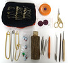 What's in my yarn bag? (Hedgehog Fibres) Tags: bag pin pattern stitch yarn pouch marker zipper hedgehog fibres zippered