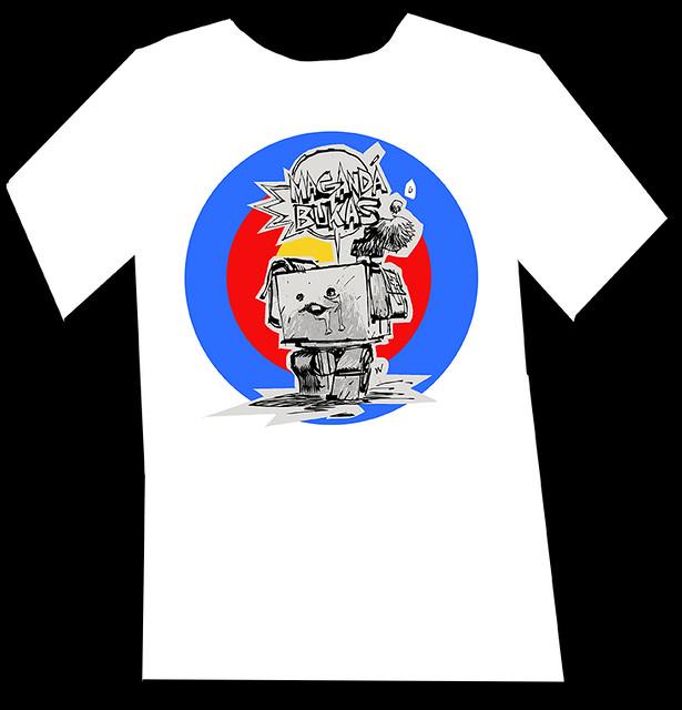 "threeA 菲律賓慈善振災T恤""美好的明天"" MAGANDA BUKAS"