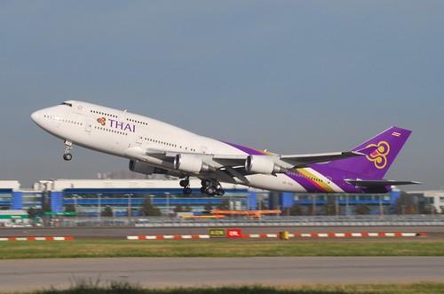 HS-TGG at Heathrow