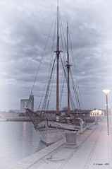 DSCF0224 (A.Husvaer) Tags: denmark boat ship maritime hdr sailship struer