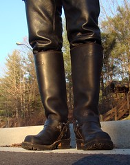 wesco_nickel_harness03696 (clockner2) Tags: leather nickel leatherpants harnessboots wescoboots