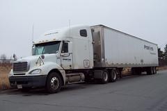 ProNorth 523 Freightliner truck with a 53' trailer Ottawa, Ontario Canada 03222010 ©Ian A. McCord (ocrr4204) Tags: ontario canada truck kodak ottawa camion vehicle pointandshoot mccord trucking easyshare c813 ianmccord ianamccord