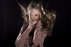 Yara (ibotamino) Tags: cute beauty face fashion hair studio nice movement model skin head air