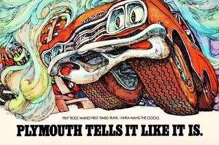 1969 PLYMOUTH TELLS IT LIKE IT IS (GTX)