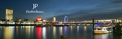 London by Night (Jigsaw-Photography-UK) Tags: london eye thames night evening shell jpproductionsuk