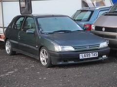 1994 Peugeot 306 Roland Garros (GoldScotland71) Tags: special roland 1994 limited edition peugeot 1990s 306 garros l699tas