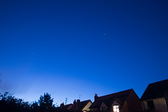 Spotting the ISS 361/365 2013 [DSLR] (@Dave) Tags: trees houses sky house tree oneaday dave stars james nikon long exposure nightime photoaday 365 nikkor dslr iss pictureaday d600 project365 2013 pad2013365