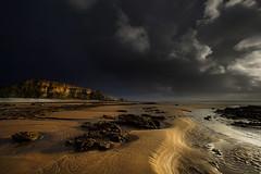 """"""" A SPECIAL PLACE """" (Wiffsmiff23) Tags: light beach golden sand shadows dramatic cliffs drama epic traethmawr glamorganheritagecoastline cwmnash heritagecoastline heritagecoastlinesouthwales"""