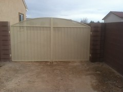 Double Gates (ariron_llc) Tags: las vegas green home pool fence code gate iron break ar artistic security powder double entryway valley installation secure safe rv henderson invasion privacy anthem welders hoa summerlin wrought certified fabrication coating