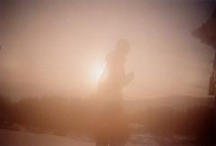 winter cheeks #A (haruka146) Tags: portrait snow art film japan analog 35mm photography photo negative disposablecamera filmcamera nagano quicksnap compactcamera scannedprint conpactfilmcamera