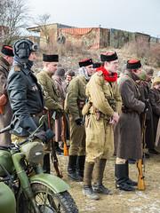 Soviet WW2 reenactors (The Adventurous Eye) Tags: wwii budapest ii soviet ww2 pocket operation conrad reenactors 2014 ořechov
