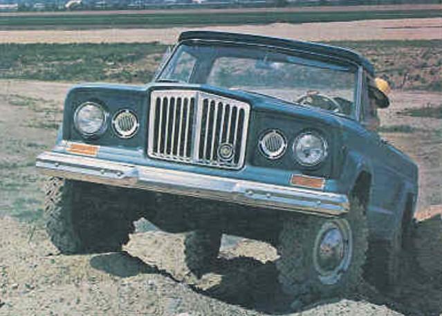 jeep 1964 pressphoto jeepgladiator jseries jeepjseries