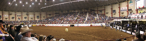 Panoramic at the San Angelo Stockshow & Rodeo