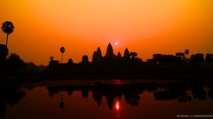 Sunrise at Angkor Wat  (huydara) Tags: sunrise cambodia angkorwat siemreap angkor 7wonders