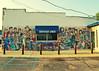 Northside Diner (SOMETHiNG MONUMENTAL) Tags: canon vintage mural marilynmonroe indiana diner retro mickeymouse celebrities chesterton roadsideamerica lassie indianadunes jamesdean johnwayne buddyholly elvispresley g12 ilovelucy somethingmonumental mandycrandell