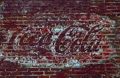 Coca - Cola (davidwilliamreed) Tags: brick sign wall mural peeling paint textures cocacola patina