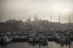 alghero sotto la nebbia (GPS_1984) Tags: sardegna fog sardinia barche porto nebbia sassari alghero