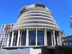 "NZ Wellington, The Sir Basel Spence designed ""Beehive"" (Anne David 2012) Tags: newzealand basel northisland sir beehive spence designed sirbaselspencedesignedbeehive sirbaselspencedesignedbuildinginnewzealand"