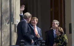 "Koning Willem Alexander in Den Haag • <a style=""font-size:0.8em;"" href=""http://www.flickr.com/photos/45090765@N05/13494760623/"" target=""_blank"">View on Flickr</a>"