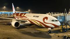 B-2060 - Air China - Boeing 777-2J6 (bcavpics) Tags: china night plane airplane hongkong gate aircraft aviation boeing 777 hkg airliner cheklapkok airchina vhhh b2060
