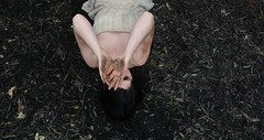 ... (rhianna.mellor) Tags: girls black me rain tattoo forest self hair skinny woods with dress mud legs skin lace dirty tattoos dirt rainy messy thin raining muddy rhianna mellor tats