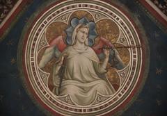 Basilica of Santa Croce, Florence (Kotomi_) Tags: italy holiday church florence basilica ceiling firenze fresco holycross