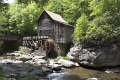 Glade Creek Grist Mill (DFChurch) Tags: park history mill creek state historic wv westvirginia babcock waterwheel glade grist clifftop
