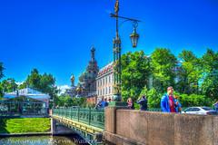 Bridge over The Moyka River (Kev Walker ¦ 8 Million Views..Thank You) Tags: stpetersburg russia hdr 2015 kevinwalker