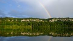 Le temps d'un arc-en-ciel **--- ° (Titole) Tags: lacdilay reflection titole nicolefaton rainbow landscape arcenciel thechallengefactory friendlychallenges yourockunanimous perpetualchallenge