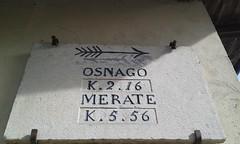 Lomagna - 12/03/17 - km 14 (Londrina92) Tags: fiasp tapasciata camminata lomagna lombardia lombardy brianza vecchio old segnale indicazione sign