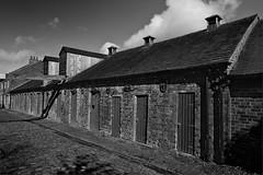Clay Arcs (the governor) Tags: shropshire ironbridge mono historic buildings cobbles bricks jackfield fujifilm xt10