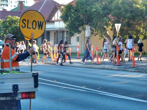 Slow, Bieber chicks are crossing