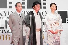 "Furuta Arata & Inamori Izumi from ""Stray Nightingale"" at Opening Ceremony of the Tokyo International Film Festival 2016"