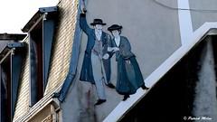On the walls (patrick_milan) Tags: tag sign dessin drawing streetart art wall street