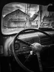 abandoned truck-abandoned general store (Haldane, Illinois) (Aces & Eights Photography) Tags: abandoned abandonment decay ruraldecay oldtruck abandonedtruck fordtruck