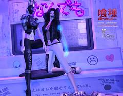 {Ghoul} Yami Leggings - MP UPDATE (Ghoul 喰種 - グール) Tags: ghoul {ghoul} leggings secondlife sl clothing mesh fitted maitreya lara belleza isis freya