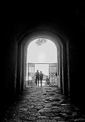 way out (doggle) Tags: olympus35sp fujifilmneopanacros100 35mm film bw monochrome pompeii roman italy hoyaorangegfilter
