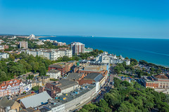 Bournemouth from Above (JackPeasePhotography) Tags: bournemouth eye dorset jurassic coast isle wight view aerial far reaching views