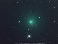 Closest Approach of Comet 41P/Tuttle–Giacobini–Kresák  at Magnitude 8.6 in the Constellation of Draco. (John Chumack _Observatories) Tags: comet41ptuttle–giacobini–kres comet41p coma nucleus comets aprilfoolsdaycomet draco jupiterfamilyofcomets yellowsprings ohio usa comet41ptuttle–giacobini–kresák johnchumack