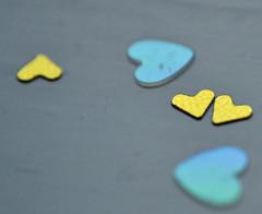 """heart confetti (conall..) Tags: macro mondays"""" """"happy 10 years"""" macromondays happy10years"""