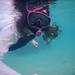 Margaret snorkeling