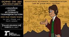 The Hobbit: The Ring (OregonDOT) Tags: tolkienreadingday tolkien socialmedia alternatetransportation modes oregondot oregon
