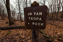 In Yan Teopa Rock - Frontenac State Park (Tony Webster) Tags: frontenac frontenacstatepark lakepepin minnesota mississippiriver earlyspring forest leaves spring statepark trees unitedstates us